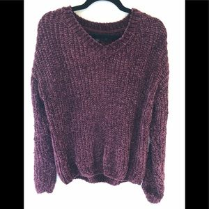 Chenille sweater. New without tags
